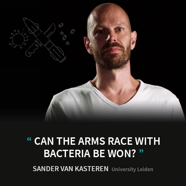 Sander van Kasteren - University Leiden - Can the arms race with bacteria be won? - Eye-openers